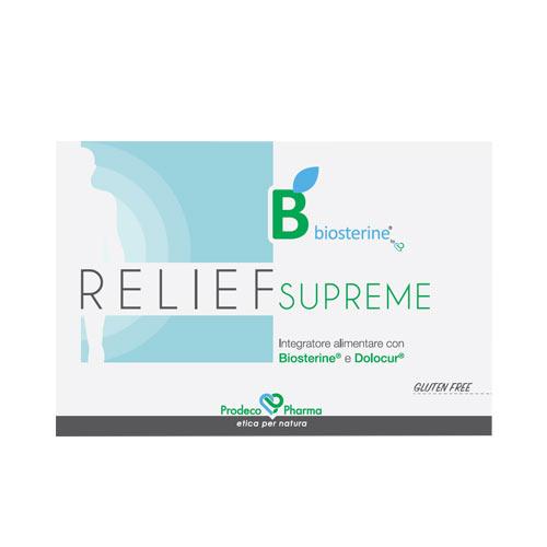 Relief SUPREME con Boswellia e Curcuma  48 compresse