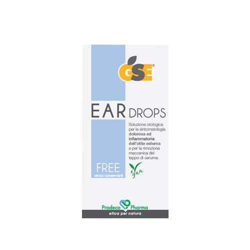 GSE Ear Drops Free  10 dosi
