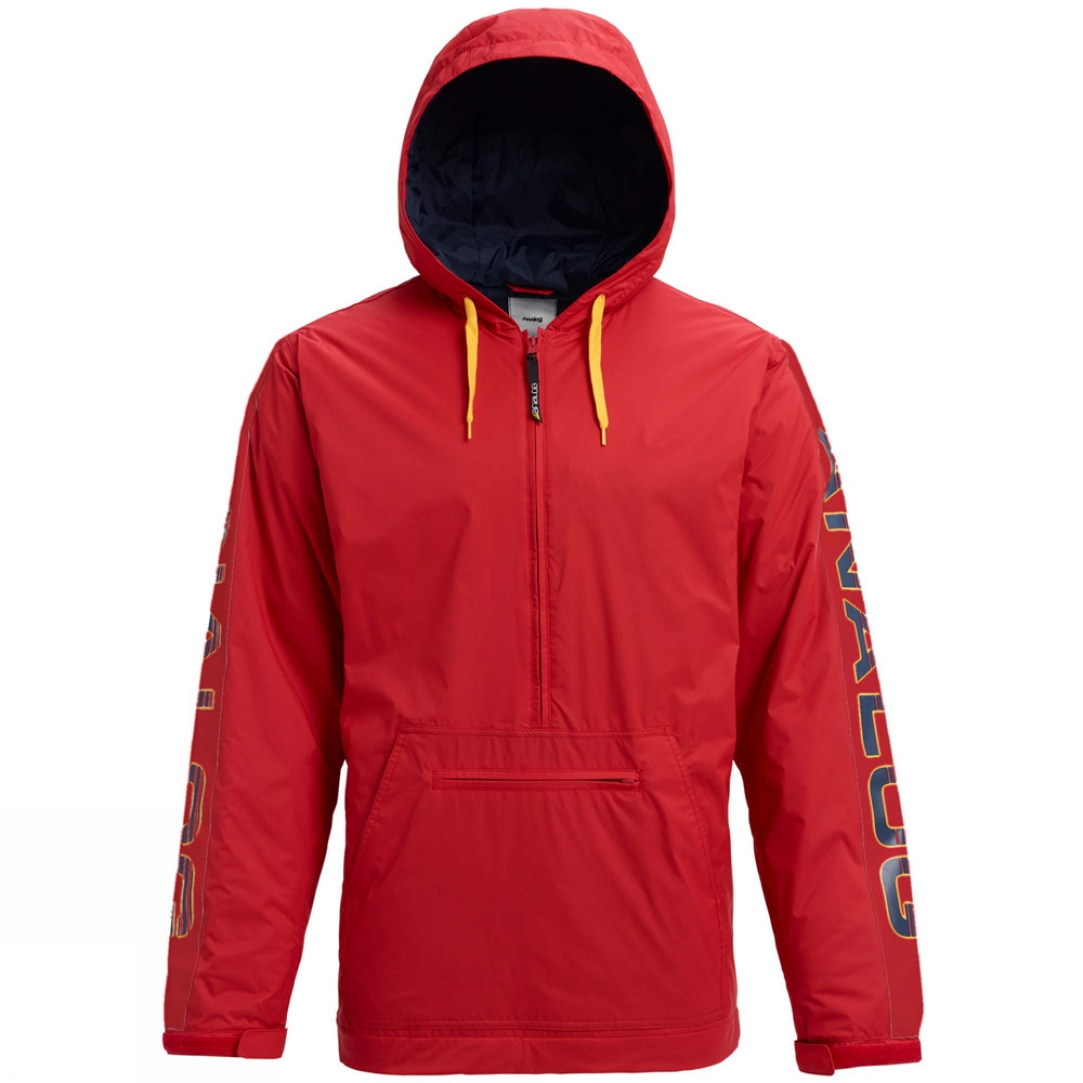 Giacca Snowboard Analog Chainlink Red