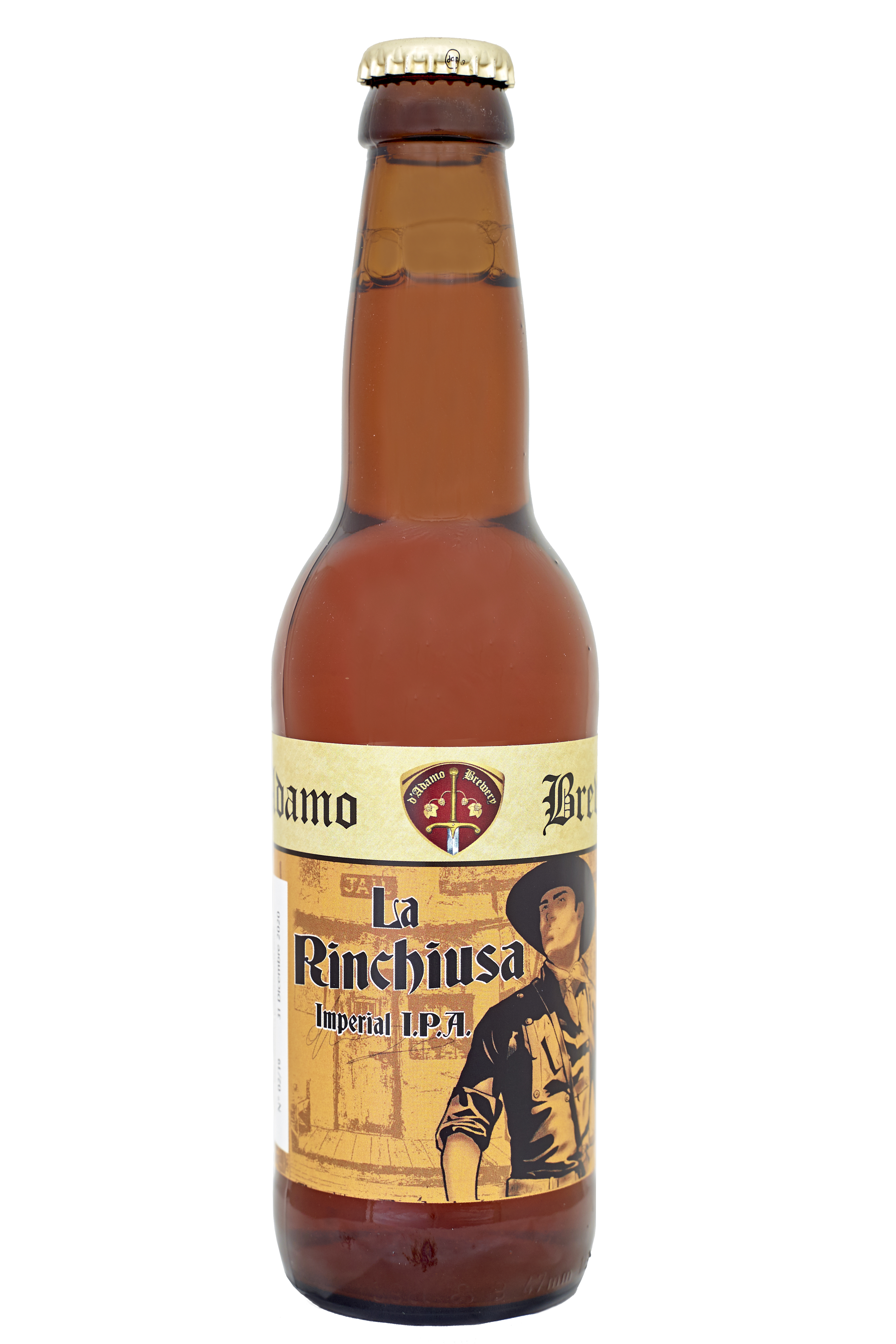 Rinchiusa Birra artigianale in bottiglia 33 cl