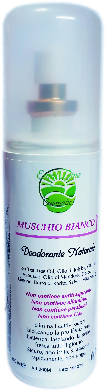 Crema Spray Deodorante al Muschio Bianco 100ml