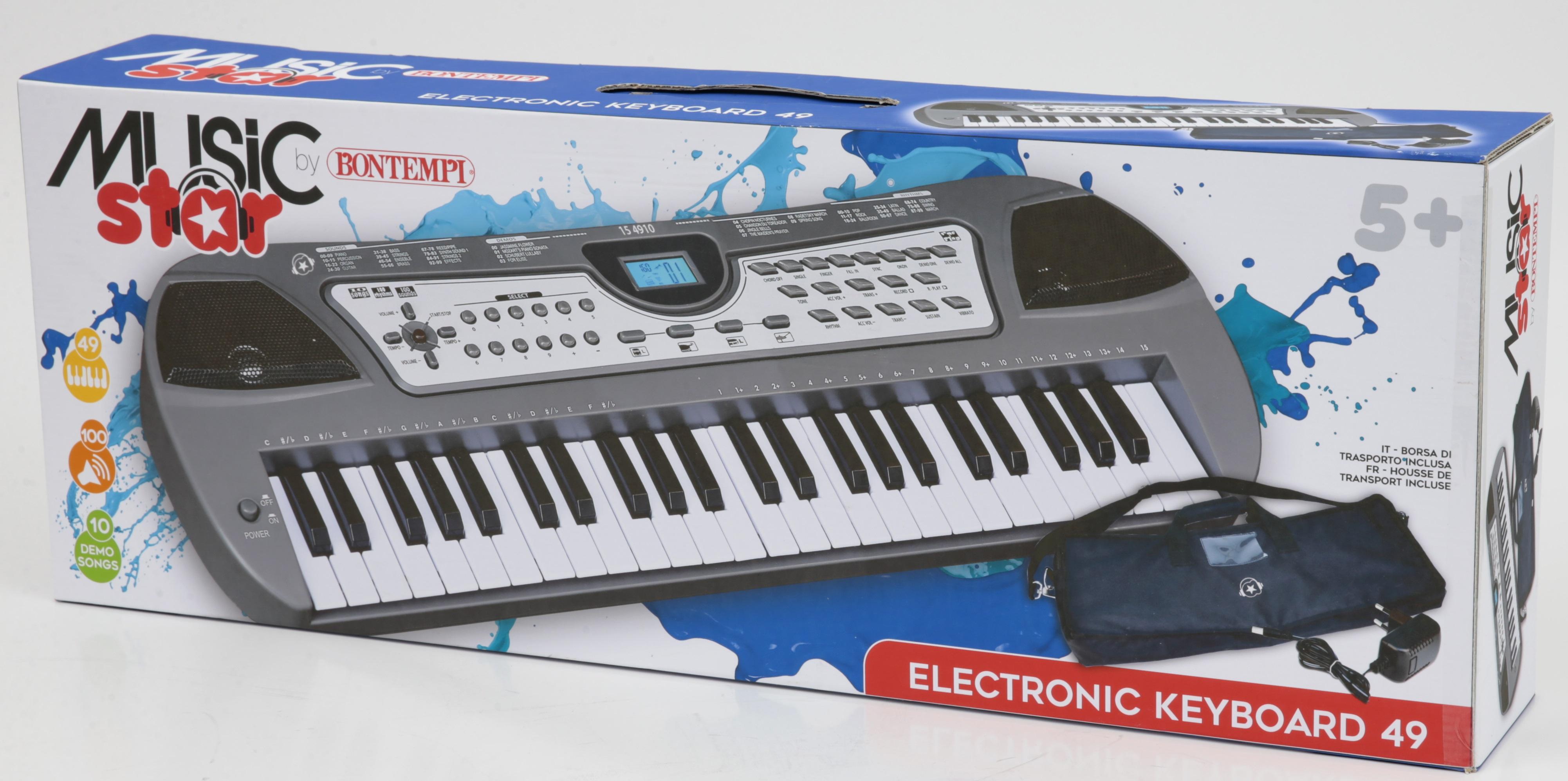 Music star - Tastiera elettronica 49 tasti