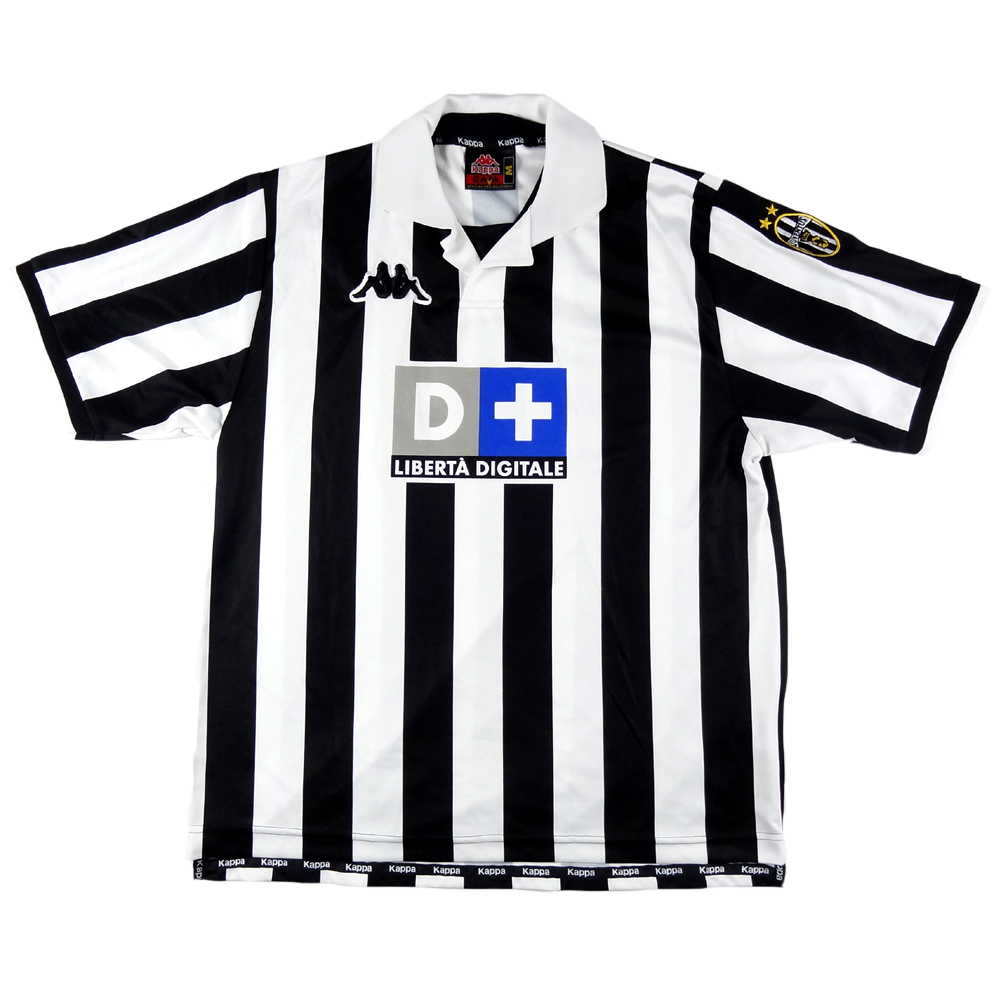 1998-99 Juventus Maglia Player Issue #10 M (Top)