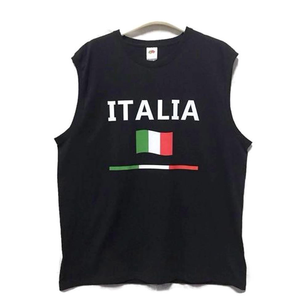 Canotta taglia XL con scritta Italia