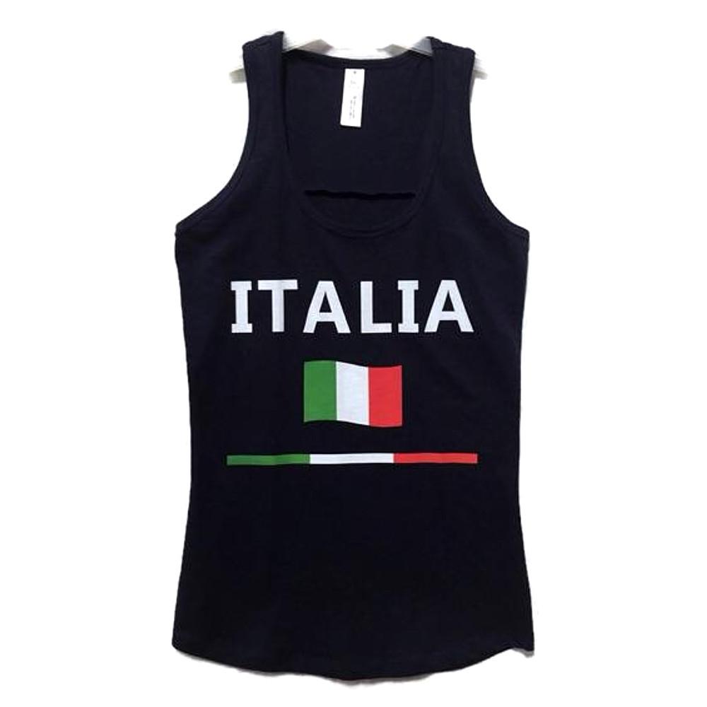 Canotta taglia S con scritta Italia