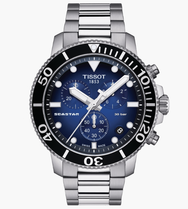 Orologio TISSOT SEASTAR 1000 CHRONOGRAPH T120.417.11.041.01