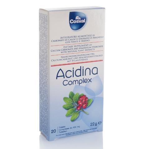 Acidina Complex  20 compresse