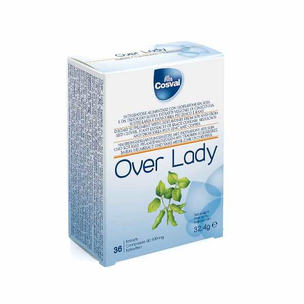 Over Lady  36 compresse