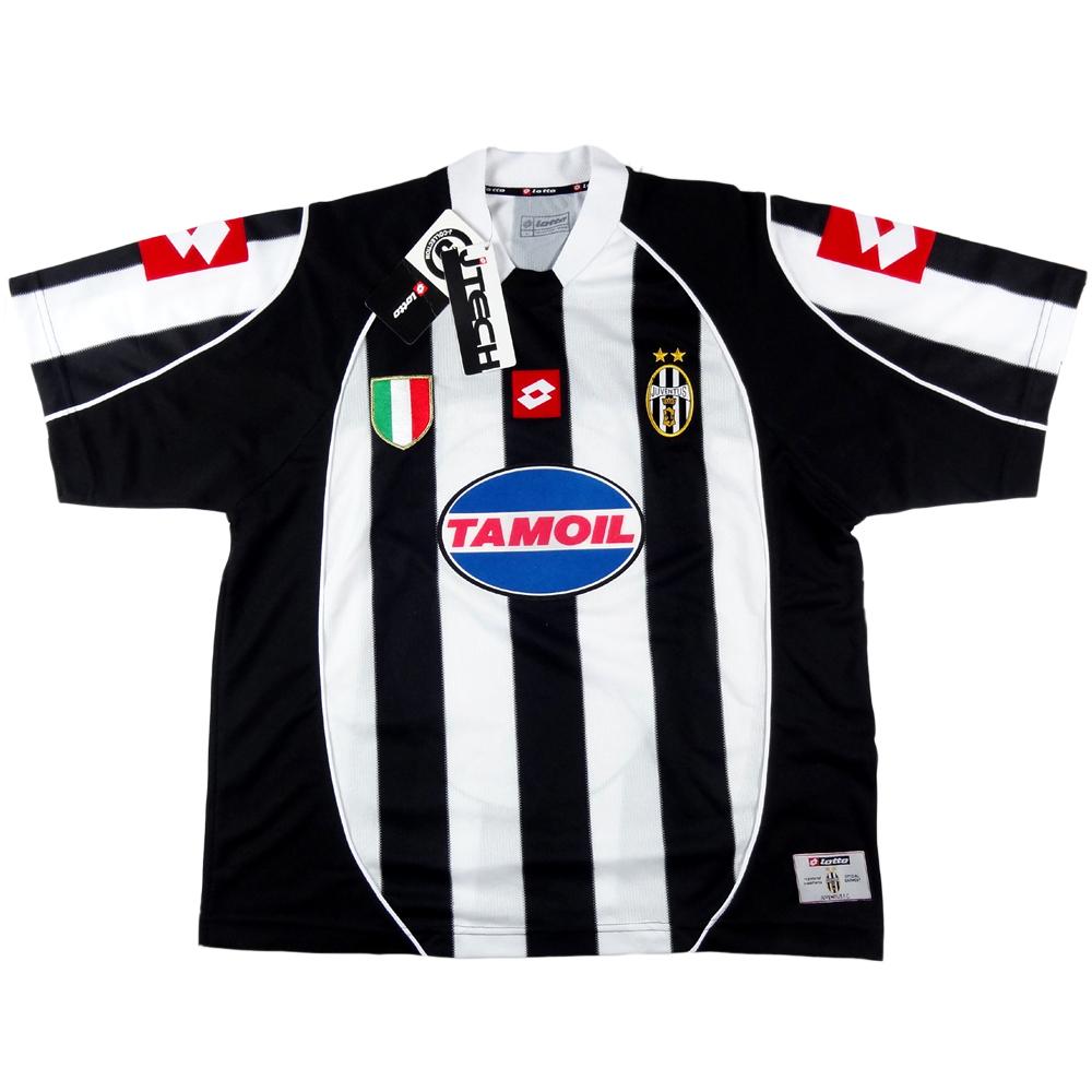 2002-03 Juventus Maglia Champions League L *Nuova
