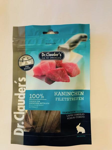 Dr. Clauders's filetti di coniglio 80 gr