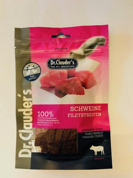Dr Clauder's filetti di maiale 80 gr