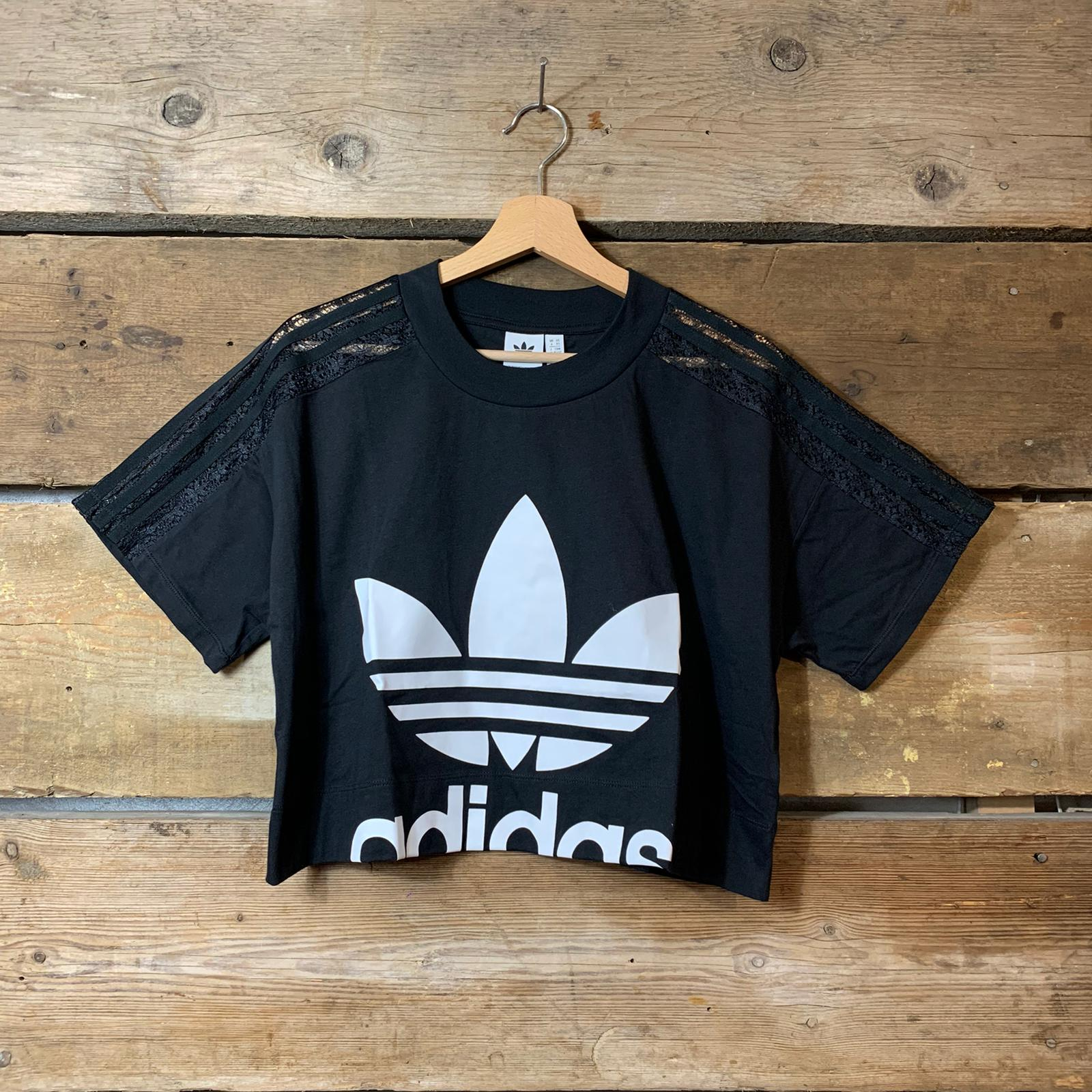 maglia adidas nera