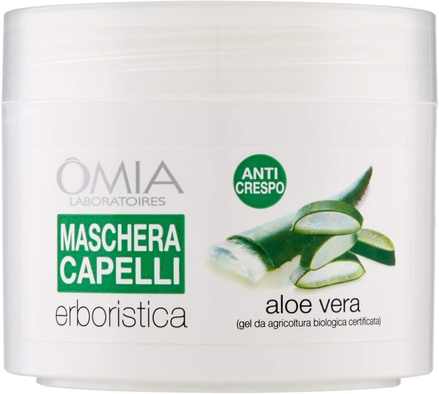 Maschera Capelli Aloe Vera 250 ml Omia