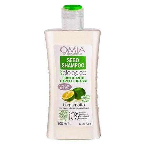 Sebo Shampoo Capelli Grassi al Bergamotto 200 ml Omia