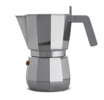 ALESSI CAFFETTIERA MOKA 6 TAZZE DESIGN DAVID CHIPPERFIELD NON ADATTA A INDUZIONE DC06/6