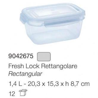 Tontarelli Contenitori Frigo Freshlock Rettangolare 1.4 Lt