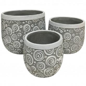 Snail Set 3 Caspo'Ceramica
