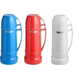 Uniflame Eterna Termos 0,22 Lt Colori Assortiti Bevande Calde con Tazza Rosso Bianco o Blu