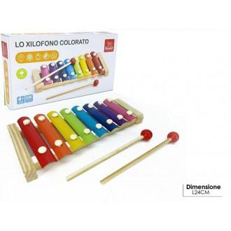 General Trade Xilofono In Legno Strumento Musicale Colorato