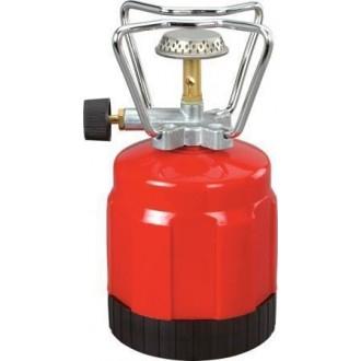 Uniflame Fornello Ranger Fornello Fornellino A Gas Portatile Rosso Da Per Campeggio Mare Montagna Cucina Cibo