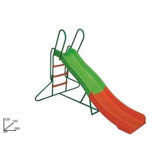 Duesse Scivolo Plastica 125x140x260cm