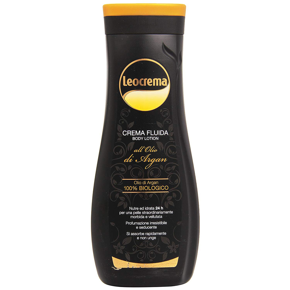 LEOCREMA corpo Crema Fluida all'Olio di Argan 400ml