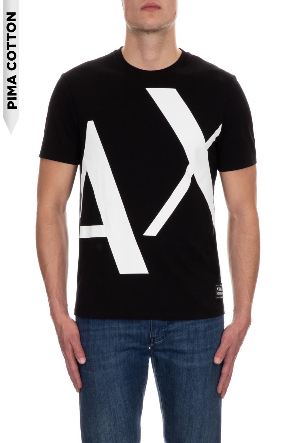 T-shirt uomo stampata manica corta ARMANI EXCHANGE