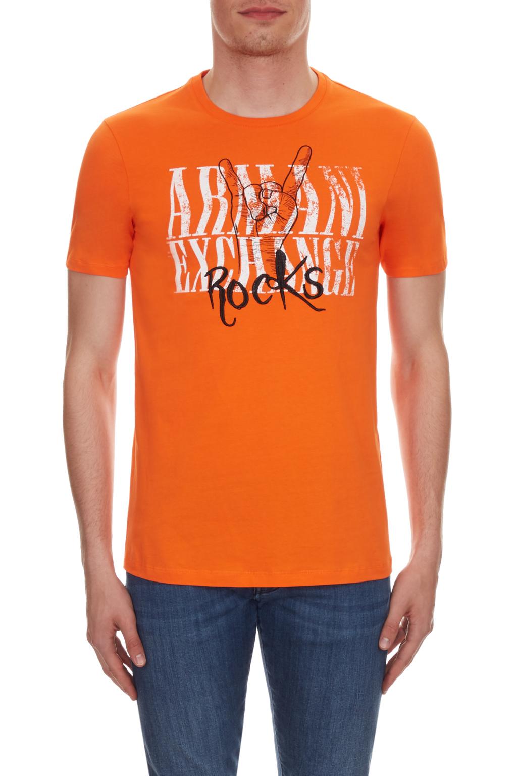 T-shirt manica corta uomo rocks ARMANI EXCHANGE