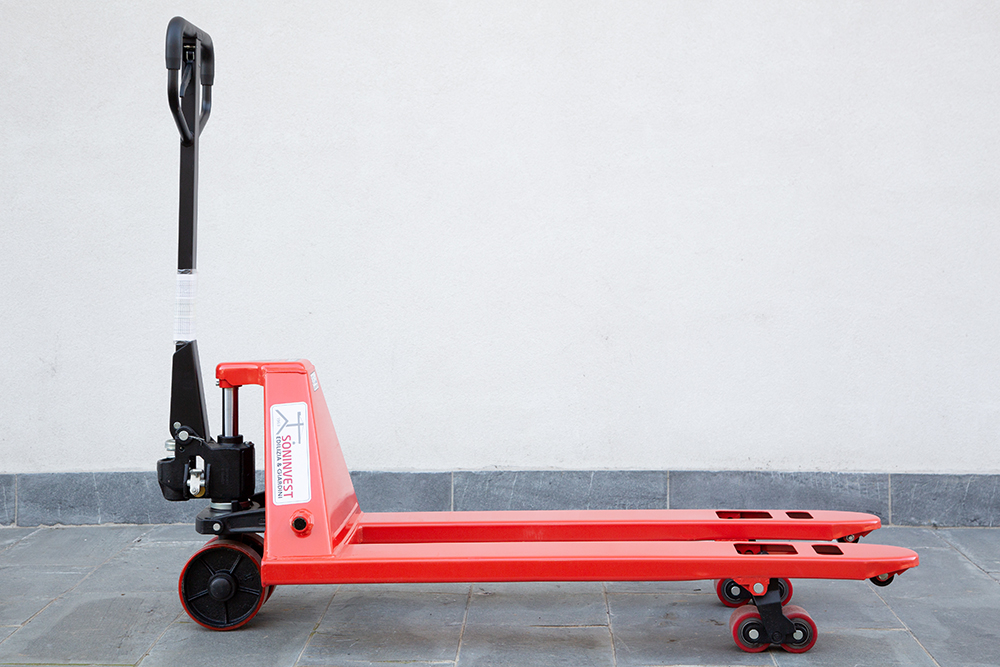 Transpallet manuale portata 2500 kg - Forche 115 cm