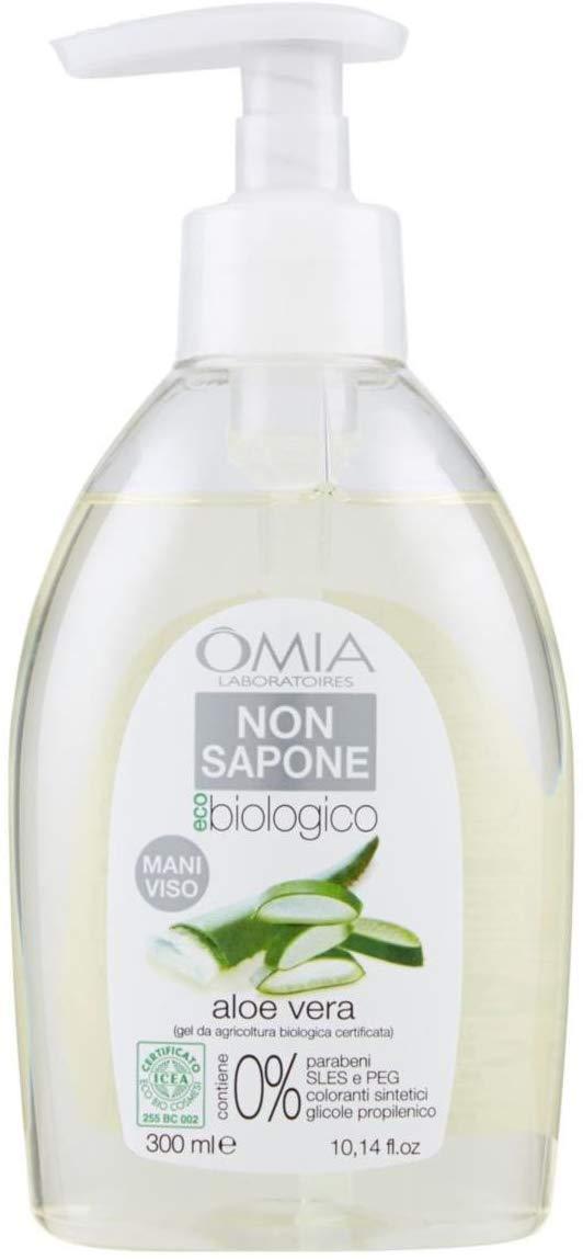 Non sapone Aloe vera 300 ml Omia