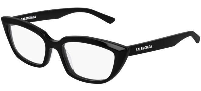 Balenciaga - Occhiale da Vista Donna, Shiny Black  BB0063O 001 B  C52