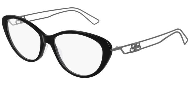 Balenciaga - Occhiale da Vista Donna, Shiny Black/Matte Grey  BB0067O 001  C53