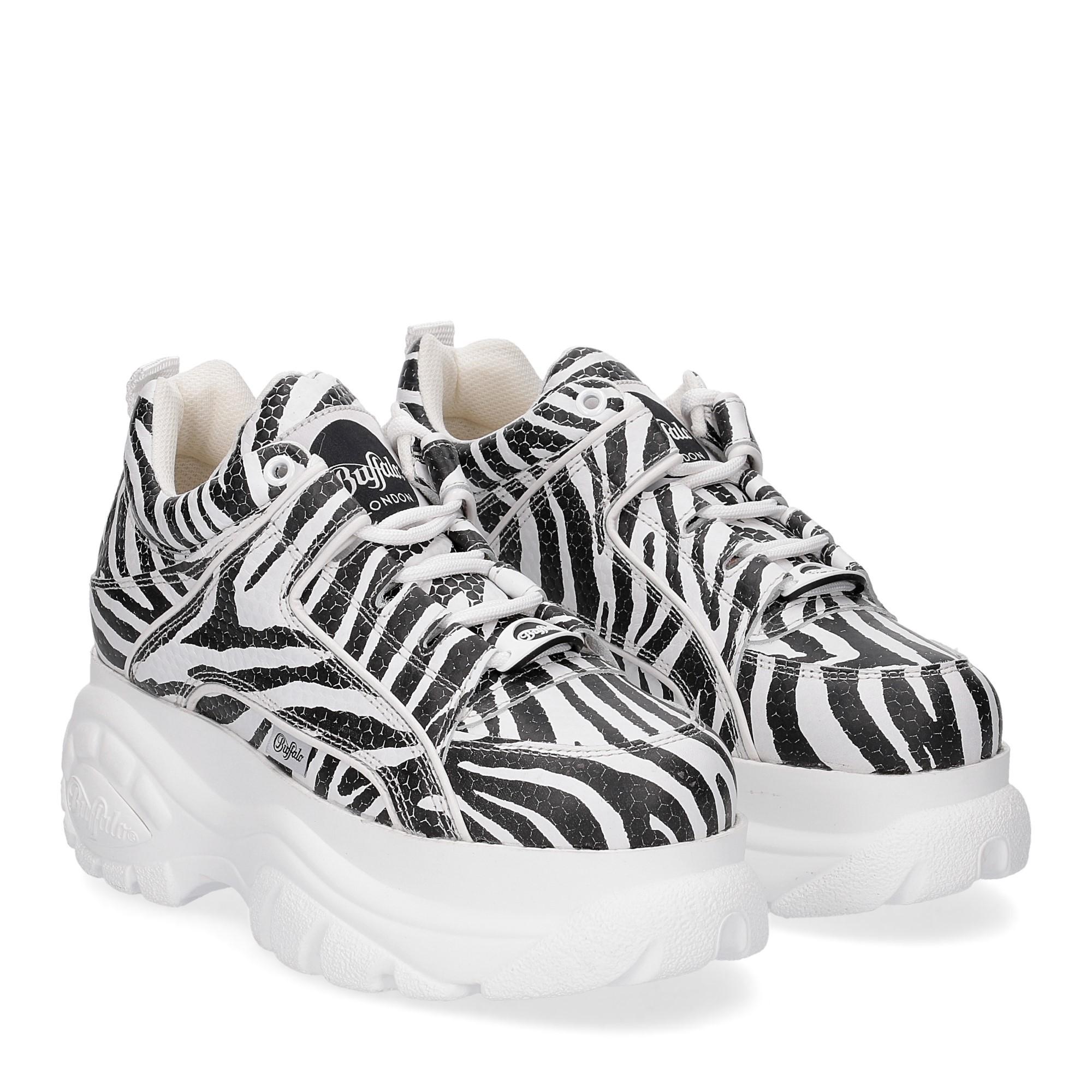 Buffalo London Sneaker 1339 Zebra