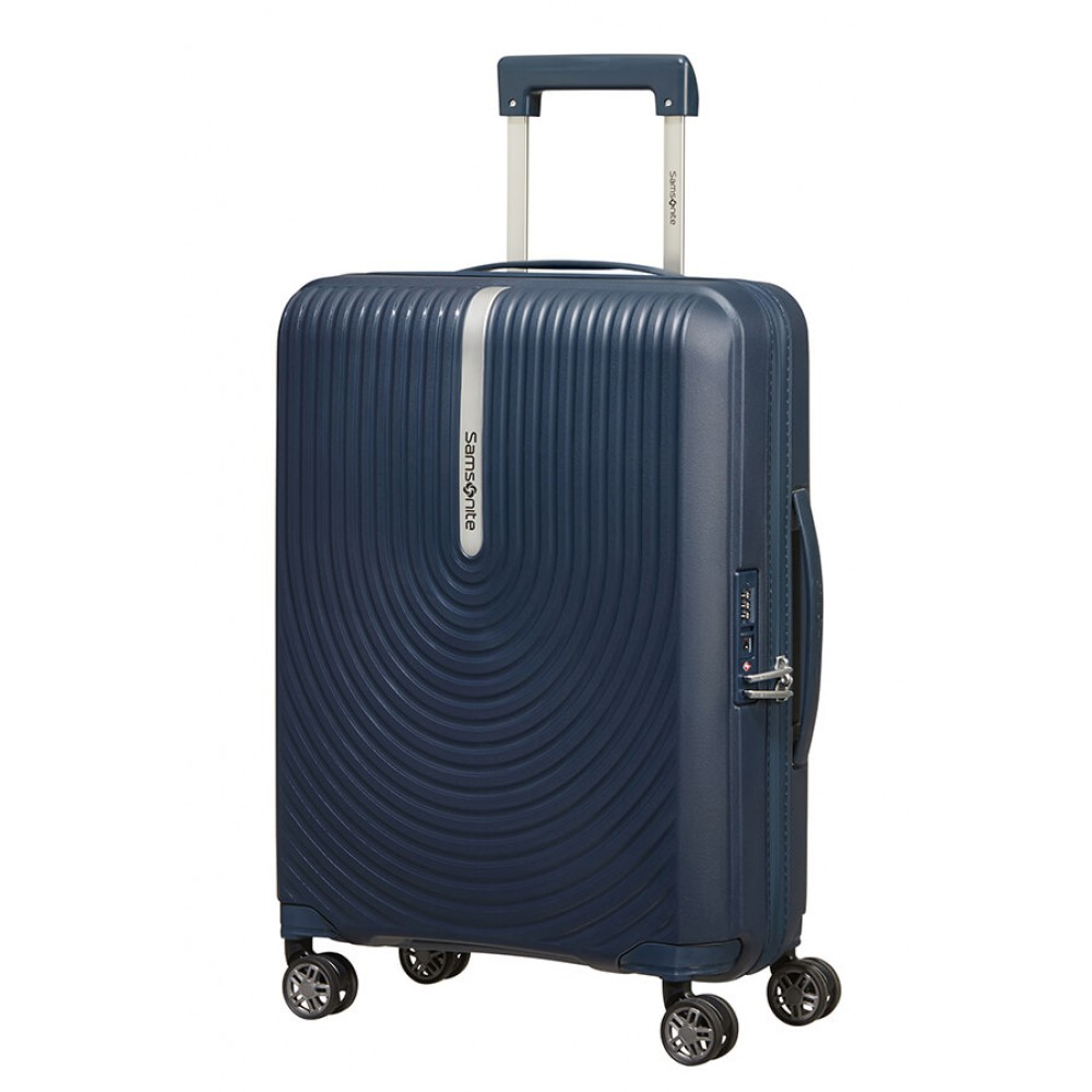 Trolley bagaglio a mano Samsonite Hi-Fi blu