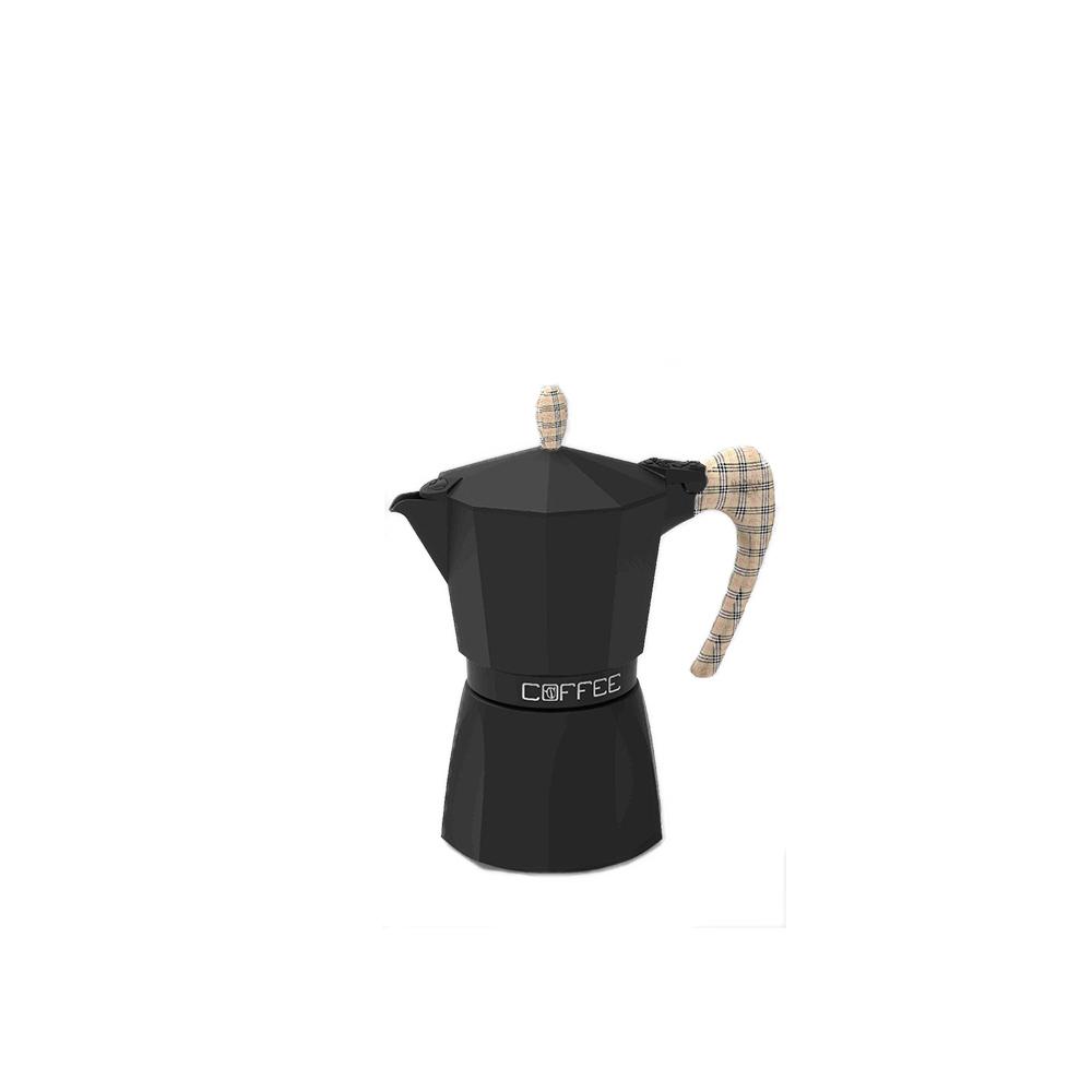 Gat Caffettiera Fashion Nero 1 Tazza