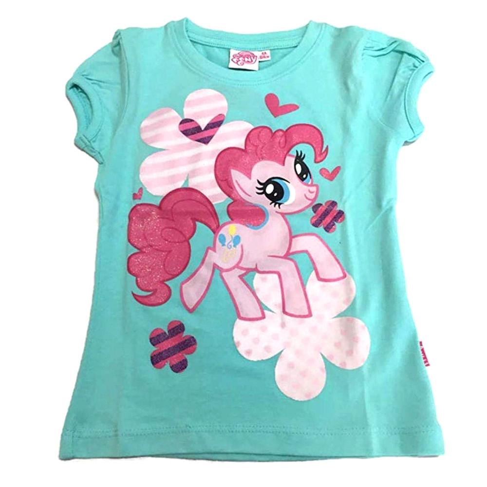 Maglietta taglia 4 anni My little pony verde acqua