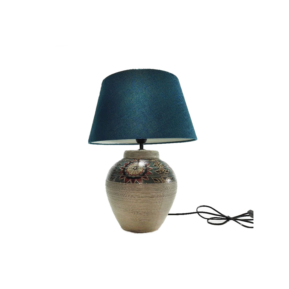 Gt Lampada Ceramica Marrone