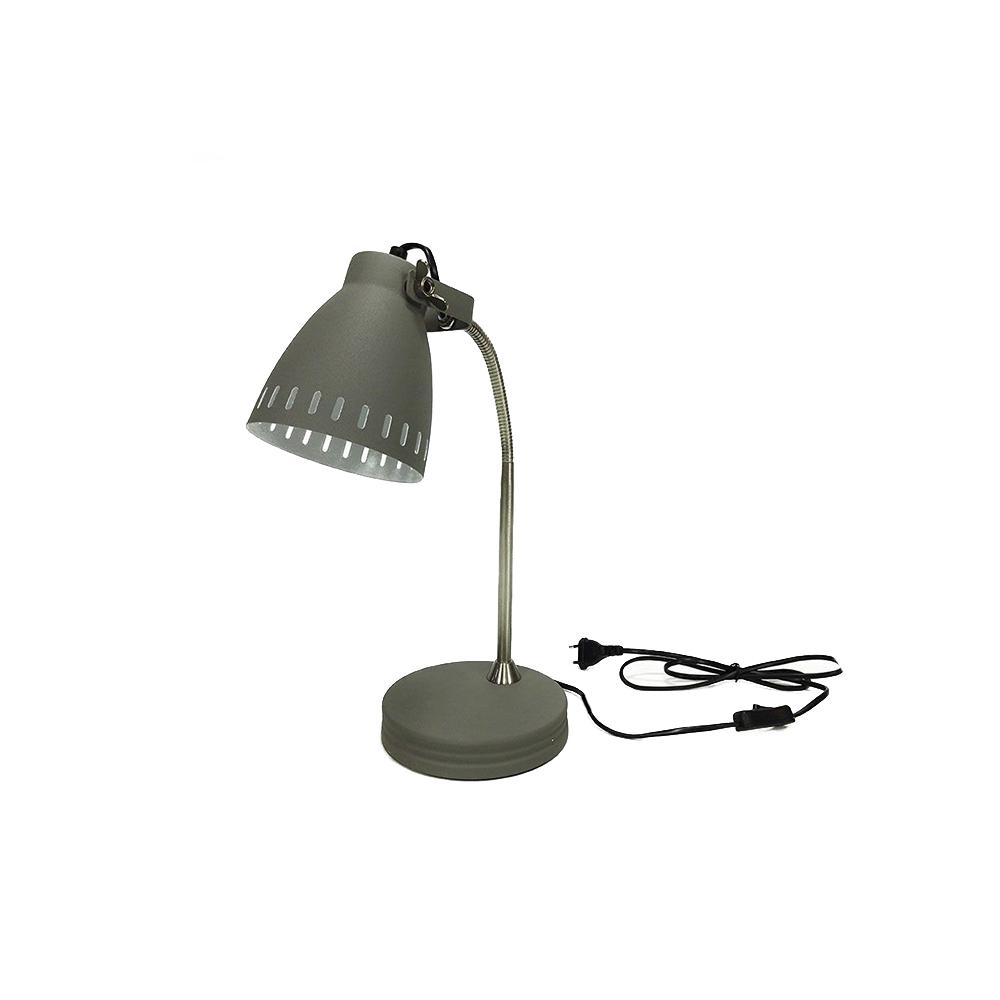 Gt Lampada da scrivania Grigia in Metallo