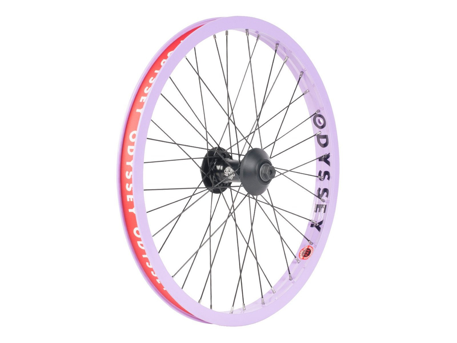 Hazard Lite Ruota Anteriore Completa Bmx odyssey   Colore Purple