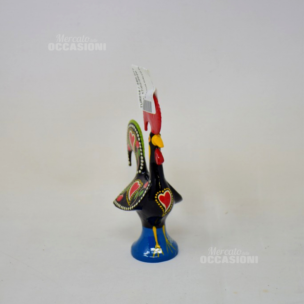 Statua Gallo Portogallo 13cm