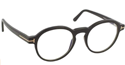 Tom Ford - Occhiale da Vista Unisex, Black FT 5606-B  BLUE BLOCK  001  C48