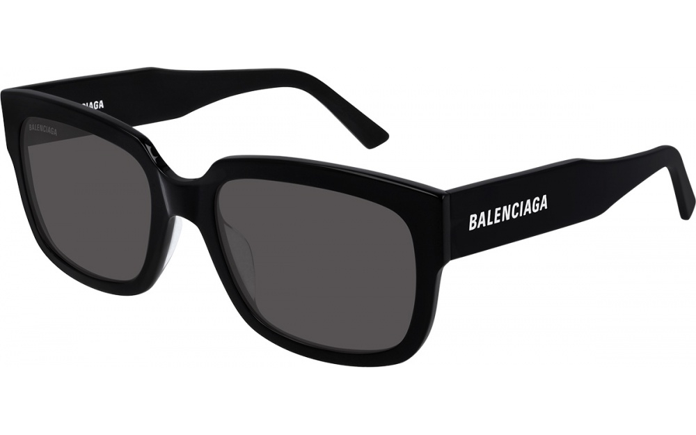 Balenciaga - Occhiale da Sole Unisex, Black/Grey Shaded  BB0049S  001A  C55