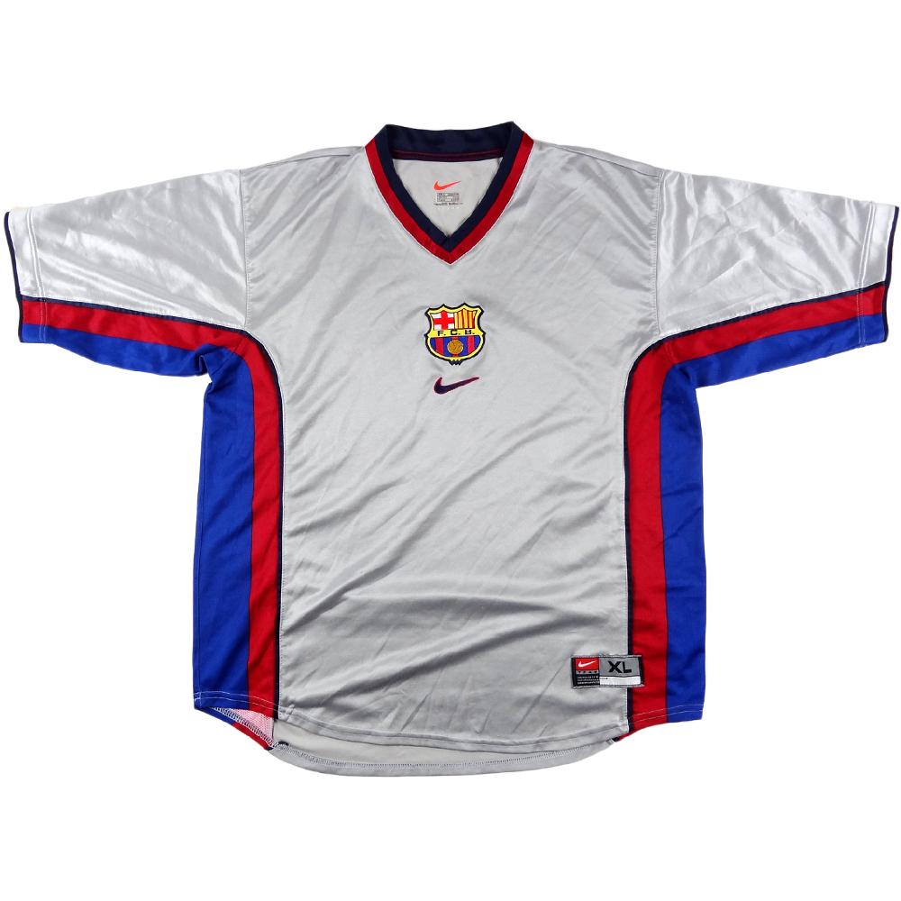 1998-01 Barcelona Maglia AWAY XL