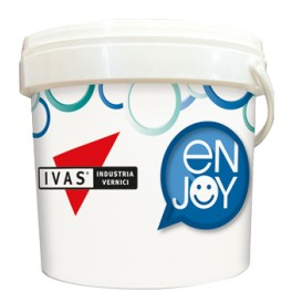 Ivas enjoy 1 coat  pittura monomano all'acqua per interni 12lt bianco