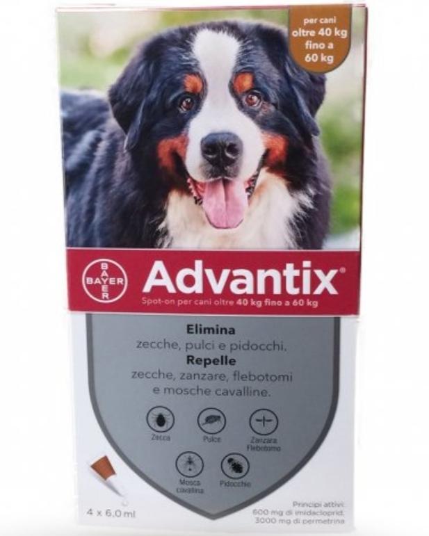 ADVANTIX SPOT ON per Cani 40 a 60 kg
