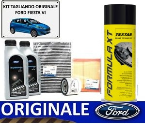 SUPER KIT ORIGINALE TAGLIANDO E FRENI FORD FIESTA 2008 EDITION