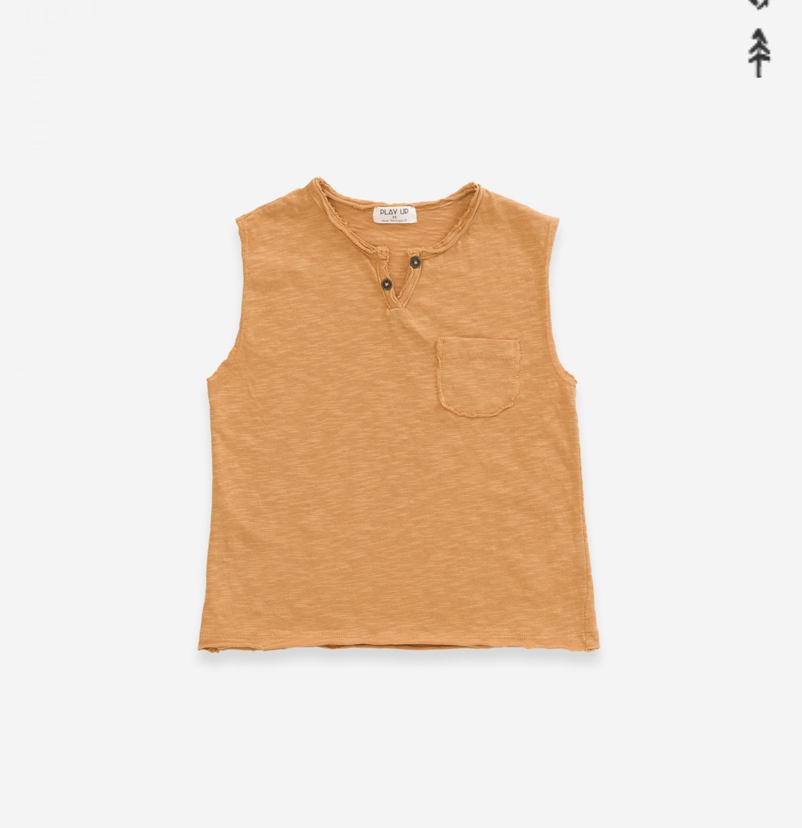 T-shirt in jersey smanicato
