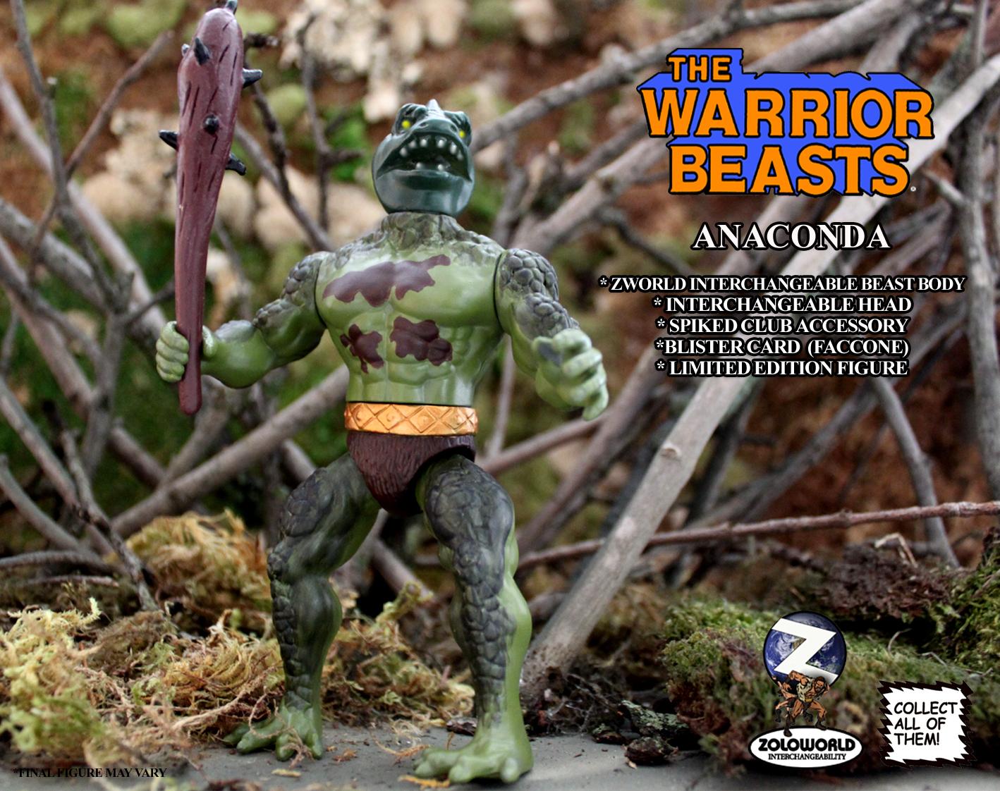 The Warrior Beasts: ANACONDA by Zoloworld