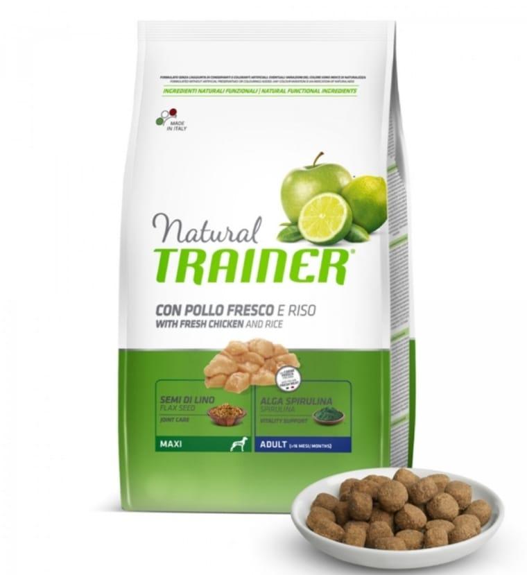 TRAINER NATURAL MAXI ADULT POLLO 12 kg