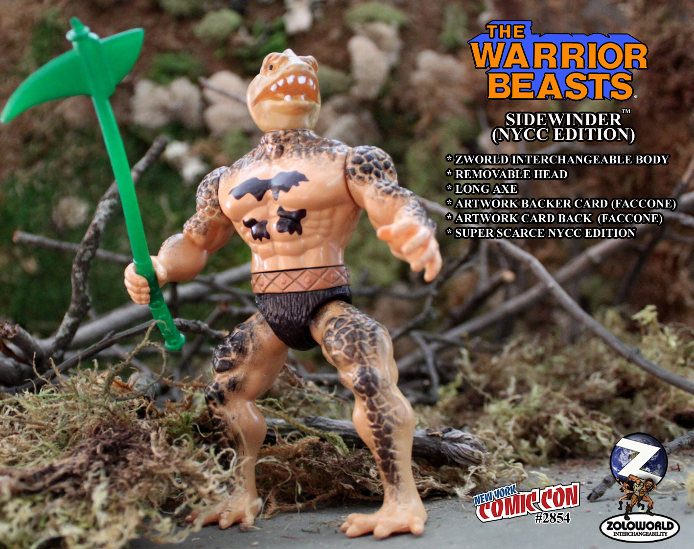 The Warrior Beasts: SIDEWINDER by Zoloworld